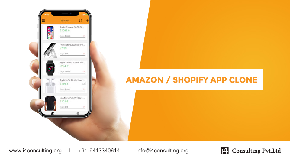 How to Develop Amazon / Shopify App Clone Script for